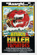 1978 Attack Of The Killer Tomatoes Vintage Movie Poster Print 54x36 9mil Paper