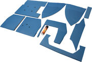 Amf6700uk Upholstery Kit Blue For Ford New Holland 5600 5700 6600 ++ Tractors