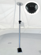 Vico Marine 47 Support Pole + Boat Vent 3 + Pole Base Extends 28 To 47 Max