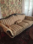 Antique Queen Anne Style Parlor Sofaandnbsp