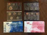 Various United States Us Mint Uncirculated Coin Proof Sets 1999, 2000, 2001
