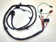 1963 1964-1966 Chevy Pick Up Truck Forward Front Light Wiring Harness Gauges