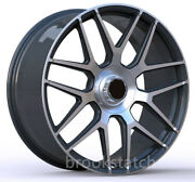 22 Gray 2019 G63 Amg Style Wheels Rims Fits Mercedes Benz G65 G500 W463 Forged
