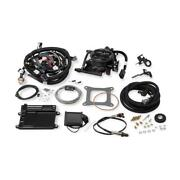 Holley Fuel Injection System 550-410 950 Cfm Hard Core Gray
