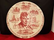 Vintage Vernon Kilns Will Rogers Collectable Plate 1879-1935 10 1/4d
