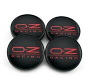 4 Pcs Oz Racing Style 60mm/56mm Golf Gti Fr-s 86 Msw 25 Weds Wheel Center Caps