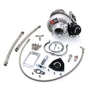 Kinugawa Billet Turbo 2.4 Td05h-16g And Blow Off Valve And 8cm T3 V-band W/ 9blades