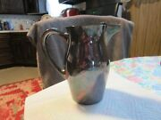 Vintage 1949 Silver-plated Pitcher From Poole Silver Company 530