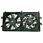Radiator Ac Condenser Cooling Fan For Chevrolet Impala 06-11 Monte Carlo 06-07