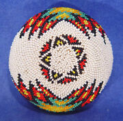 Paiute Coiled Willow / Beaded Basket C.1900-1950 Ex Nevada Ranch Collection