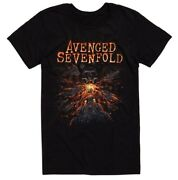Avenged Sevenfold Fire Breathing Deathbat T-shirt Nwt Authentic And Licensed