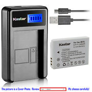 Kastar Battery Lcd Charger For Canon Nb-5l Nb-5lh And Canon Digital Ixus 800 Is