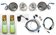 New 1968 Ford Mustang Fog Light Kit, Bulbs, Brackets, Switch, Wire Harness