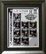 La Kings 2012 Stanley Cup Champions Deluxe Framed Photo Picture