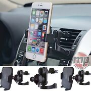Wireless In Car Charger Air Vent Mount Phone Holder Stand For Smart And Iphone