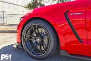 """19"""" P51 Flowforged Wheels Rims For Ford Mustang Shelby Gt350r 2015 - Present"""