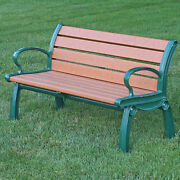 Recycled Plastic Heritage Garden/park Bench By Frog Furnishings