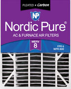 20x25x6 Aprilaire Space-gard 2200 Replacement Air Filter Merv 8 + Carbon 1 Pack