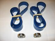 2 Blue Max Ultra Duty Band Saw Tires And Thrust Bearings For Delta 28-190 T1 Saw
