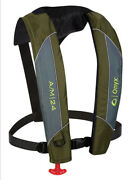 Onyx A/m-24 Automatic + Manual Inflatable Life Jacket Life Vest Green Pfd New