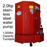 Stw-500 Spray Parts Wash Cabinet -5yrs Wty 1000lb Cap. 2hp Stainless Steel Pump
