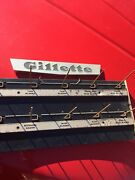 Gillette Advertising Display Rack Double Sided Old Blue Bladesthin Razor
