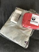 New Japan Airlines Jl First Class Pajamas + Full Amenity Kit Male Size S Or M