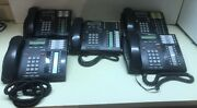 Nortel Bellsouth T7316e Phones With Handsets No Cords Lot Of 5 Used Untested