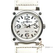 Bell And Ross Aviation Br03-92 Mother Of Pearl Ceramic Automatic Watch