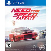 Need For Speed Payback Ps4 [brand New]