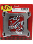 Rpc Alloy Carb Adapter, With Studs And Gaskets, Square Bore To Spread, Bo… R2066
