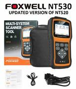 Foxwell Nt530 For Honda City Multi System Obd2 Scanner Diagnostic Tool