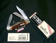 Schrade 89ot Knife Usa Old Timer The Blazer 4 Closed W/packaging,papers Rare