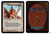 Mrm English Serra Angel Good+ Exc- Mtg Magic Alpha Saa01