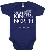 Game Thrones Baby Bodysuit Future King In The North Baby Grow Vest Got Clothes