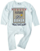 Bake Off Romper Future Star Baker Baby Romper Suit Baking Gbbo Funny Clothes