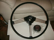 New Mgb Steering Wheel Top Quality Reproduction Of Oe Original62-67 W Horn Push