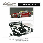 Frp Pd Rb Body Kit For 09-12 Mazda Rx8 Rx-8 Se3p Lip Fender Diffuser Wing Skirt