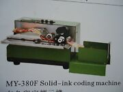My-380f Solid-ink Code Batch Label Printer And Product Date Coding Machine