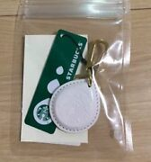 Starbucks Beams Touch The Drip Limited Keychain White Rare From Japan