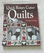 Quick Rotary Cutter Quilts Pam Bono Designs 1994 Pre-owned Excellent Cond.