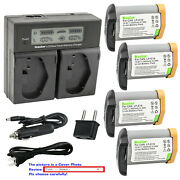 Kastar Fully Decoded Lp-e19 Battery Lcd Fast Charger For Canon Eos 1d X Mark Ii