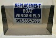 Boat Windshield 22 1/2 Id 3/16 Lexan Center Console Unbreakable