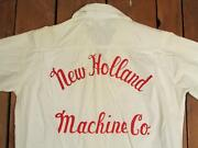 Vintage 1960s New Holland Machine Co.bowling Team Shirt Blouse Sperry Rand 2/2