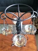 Partylite Global Fusion Hanging Tealight Tree Candle Holder