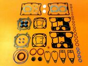 1999 And Up Fits Harley 110ci Screamin Eagle Cvo Top End Gasket Set W/ Mls .040
