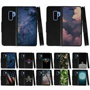 For Samsung Galaxy S9+ G965 Leather Flip Wallet Case Stand Cover W/ Card Slots