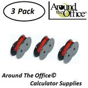 Star Model Dp-832 Compatible Calculator Rs-6br Twin Spool Black And Red Ribbon