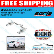 Borla S-type Axle Back Exhaust 2017 Ford Fusion Sport 2.7l Turbo At Awd 11942