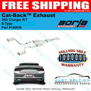 Borla S-type Exhaust 2015-2021 Dodge Charger R/t Chrysler 300 5.7 No Tips 140636
